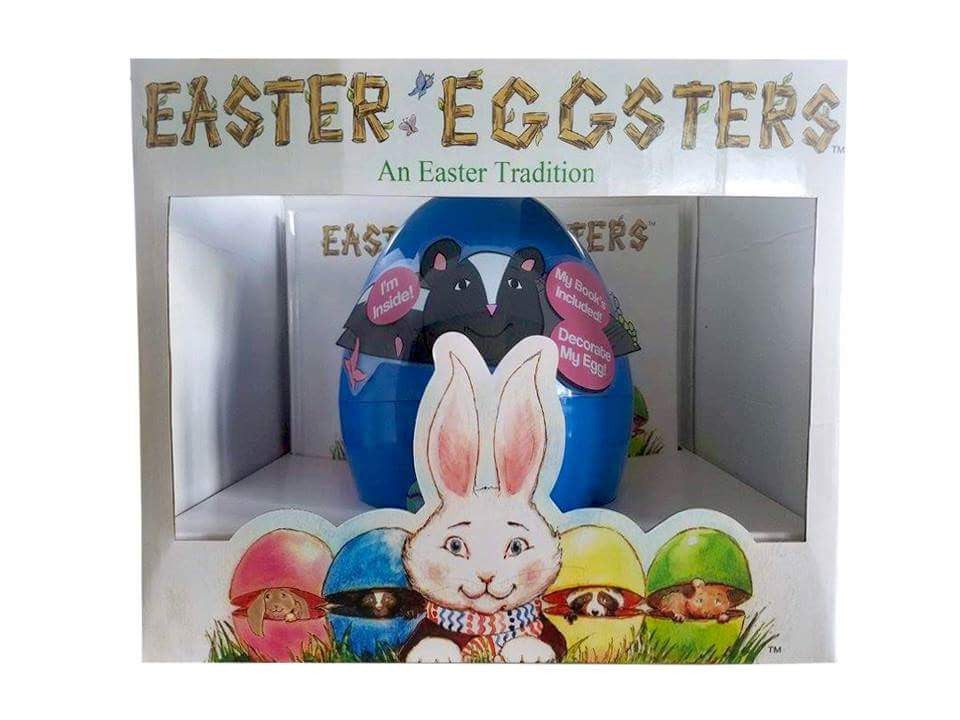 Blue Easter Eggster