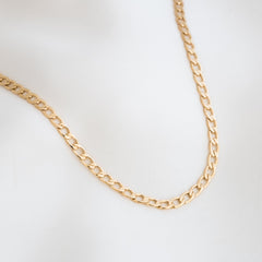 Chunky Curb Chain Necklace | Simple & Dainty