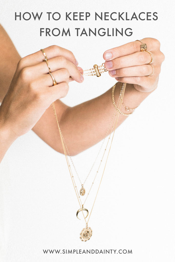 Layered Necklace Detangler | Simple & Dainty
