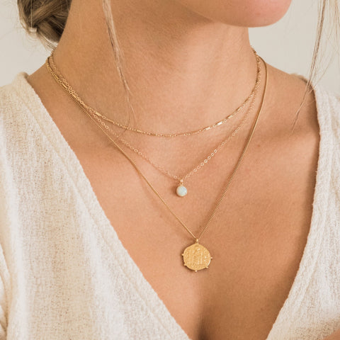 Layering Necklaces | Simple & Dainty