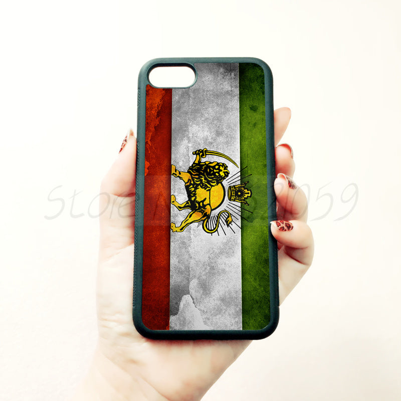 Iran Flag Case For iPhone