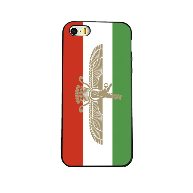 Farvahar Flag iPhone case