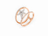Ava Ring - Rose Gold