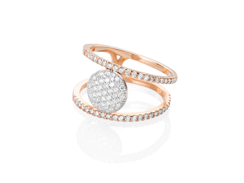 Delaney Ring - Rose Gold