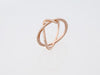 Twisted Pinky Ring - Rose Gold