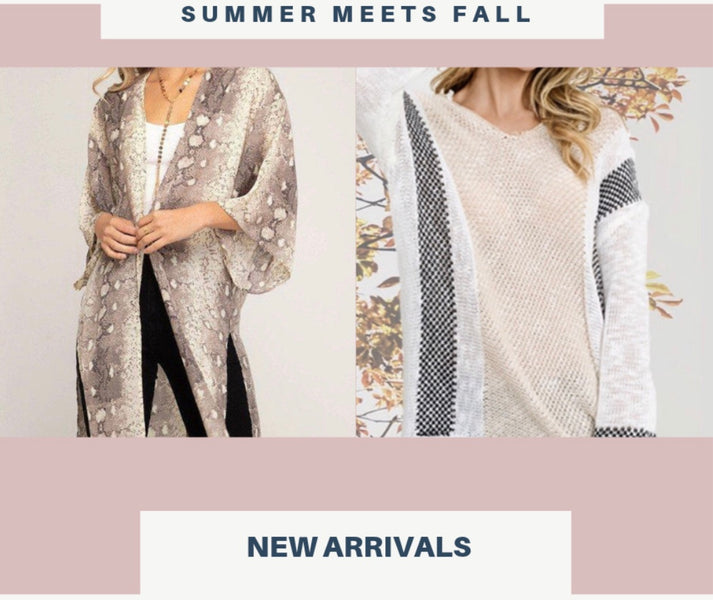 Fall Fashion Trends you can Shop NOW!!!