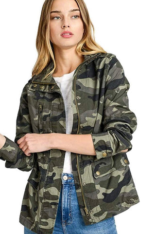 Social Butterfly boutique, unique style, fall fashion trends, camo jacket, Love Tree, women clothing, army green, shop the trends, layered look