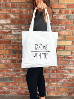 Take Me With You Tote