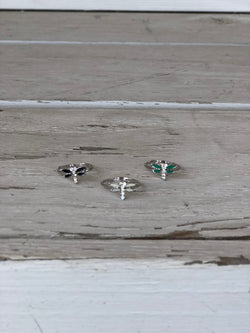 Dragonfly Toe Ring