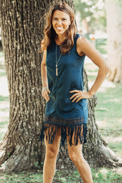 Dress Boho Chic Fringe