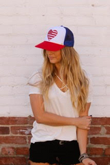 American Heart Hat by Mother Trucker & Co.