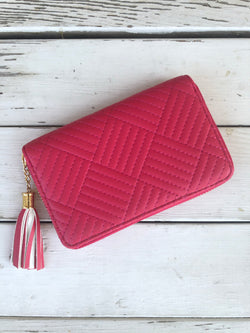 Hot Pink Fashion Wallet