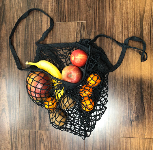 Black Net Bag W/Handles is a great grocery or carry all bag. OC Social Butterfly brings together a specially curated collection of clothing and accessories. From the latest trends to the most comfortable everyday attire at an affordable price.   Ships from the USA, unique style, fashionable bags, on trend