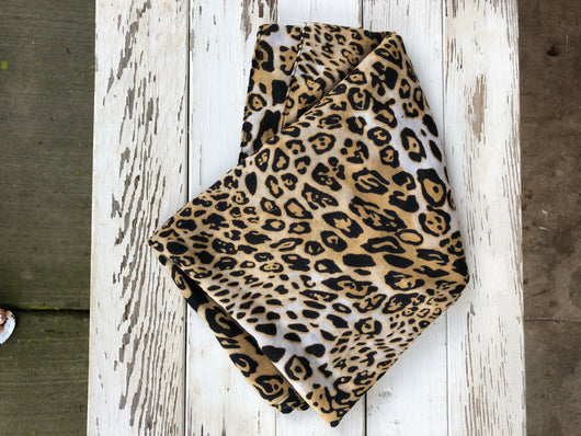 Cheetah Print Rectangle Scarf
