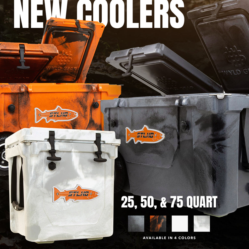 All New STLHD/WYLD GEAR Hard Coolers
