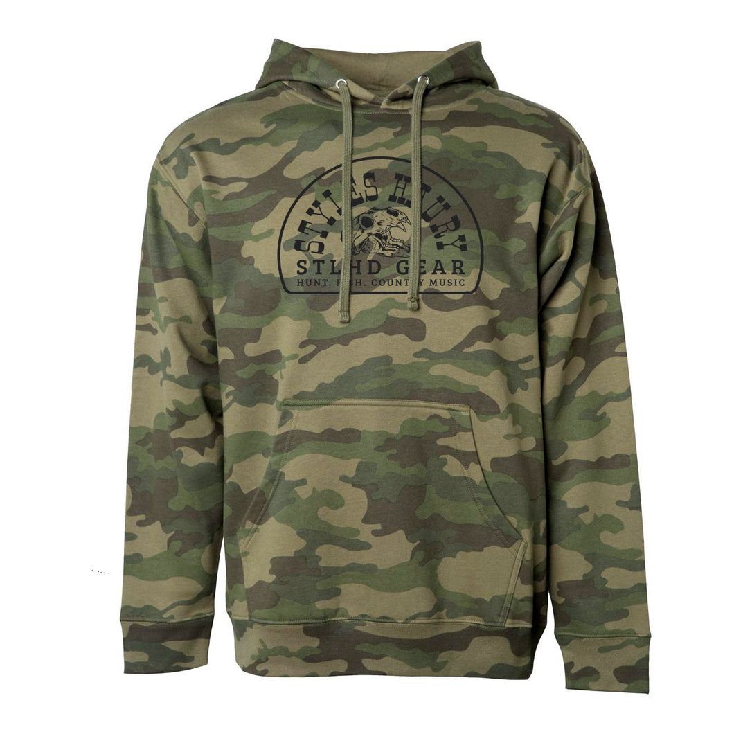 STLHD Men's Styles X STLHD Bear Country Camo Standard Hoodie