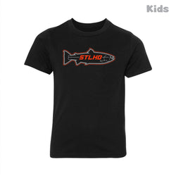 STLHD Kids' Stealth Black T-Shirt