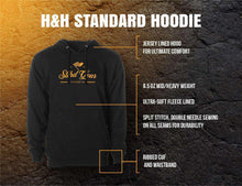 Load image into Gallery viewer, STLHD Men's Midnight Black Camo Black Standard Hoodie - hhoutfitter