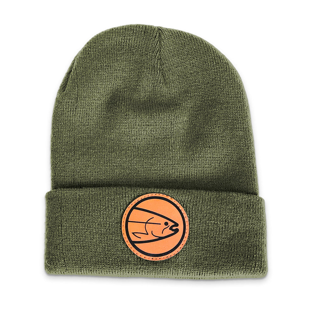 STLHD Smith River Green Beanie Knit Hat