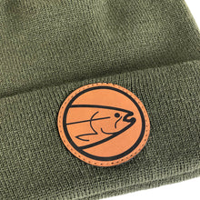 Load image into Gallery viewer, STLHD Smith River Green Beanie Knit Hat