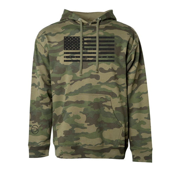 STLHD Recon Camo Premium Hoodie - hhoutfitter