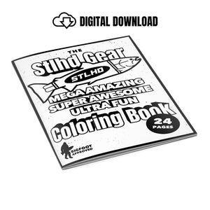 STLHD Gear Coloring Book - Digital Download