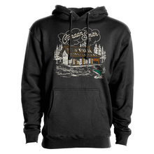 Load image into Gallery viewer, Canaan Smith X STLHD Cabin In The Woods Black Premium Hoodie