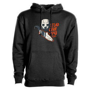 STLHD Men's Slayer Black Premium Hoodie