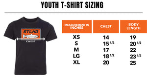 STLHD Youth Heavy Hitter Dark Heather T-Shirt - hhoutfitter