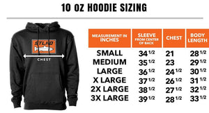 STLHD Men's Rock N' Roll Black Premium Hoodie