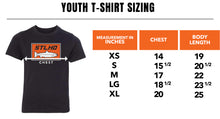 Load image into Gallery viewer, STLHD Youth Heavy Hitter Black T-Shirt - hhoutfitter
