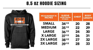STLHD Men's Work Hard Black Standard Hoodie - hhoutfitter