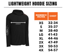 Load image into Gallery viewer, STLHD Men's Owyhee Black Lightweight Hoodie - hhoutfitter