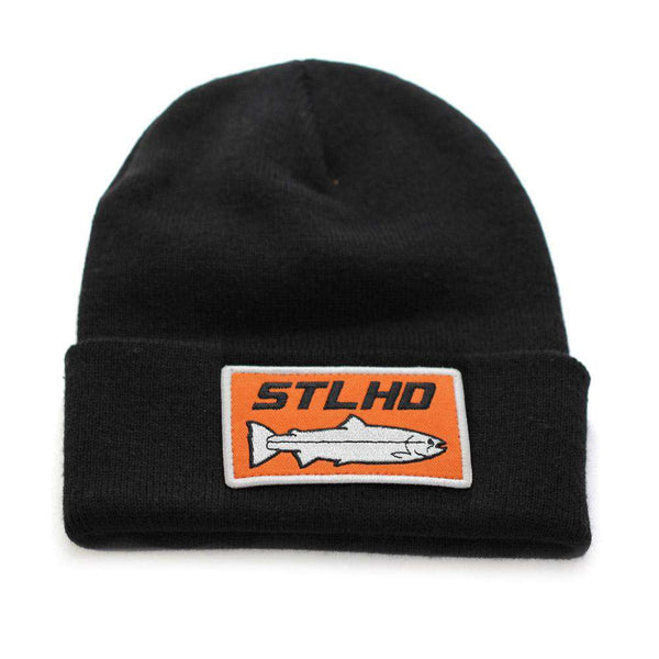 STLHD Knit Beanie Patch Hat - 3 Patch Options - H&H Outfitters