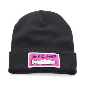 STLHD Knit Beanie Patch Hat - 3 Patch Options - hhoutfitter