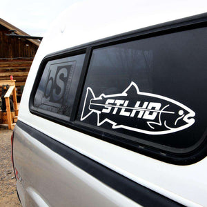 "STLHD Large 20"" Boat Decal - 2 Colors - hhoutfitter"
