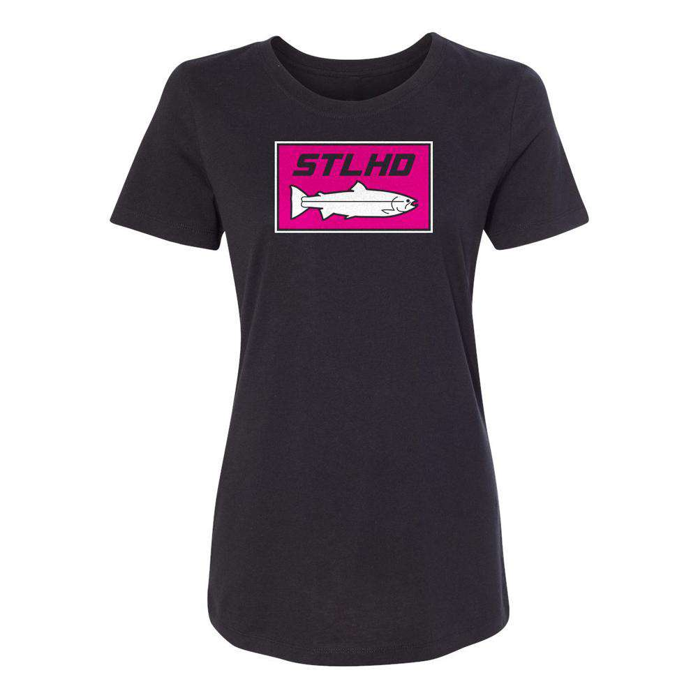 STLHD Women's Hot Pink T-Shirt - hhoutfitter