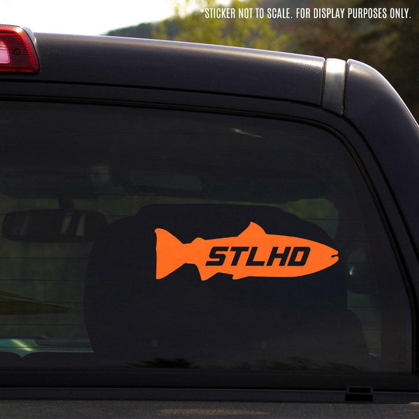 "STLHD Inside Vinyl Decal - 8.5""X3"" - 4 Colors - H&H Outfitters"