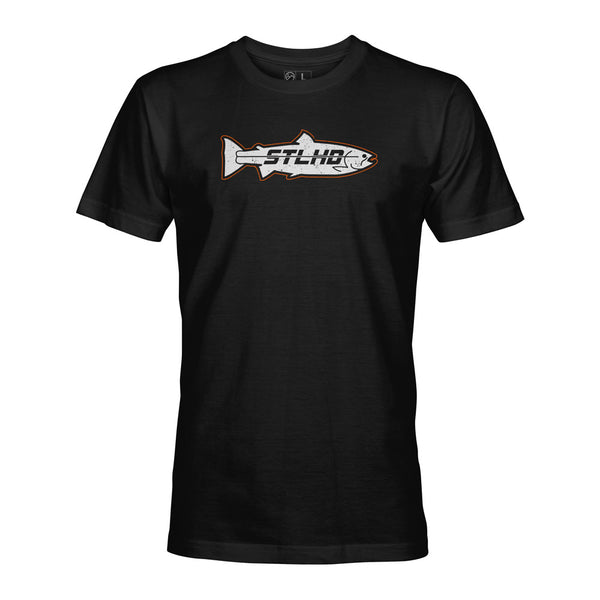 STLHD Men's Inside Pro Black T-Shirt - hhoutfitter