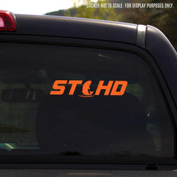 "STLHD Jumper Vinyl Decal - 9"" x 2"" - 4 Colors - H&H Outfitters"