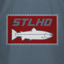 Load image into Gallery viewer, STLHD Men's 'Merica Indigo T-Shirt - hhoutfitter