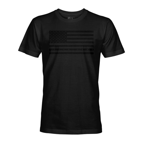 STLHD Men's Black Ops Black T-Shirt - hhoutfitter