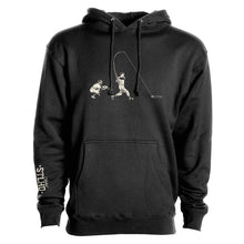 Load image into Gallery viewer, STLHD Men's Heavy Hitter Black Premium Hoodie - hhoutfitter