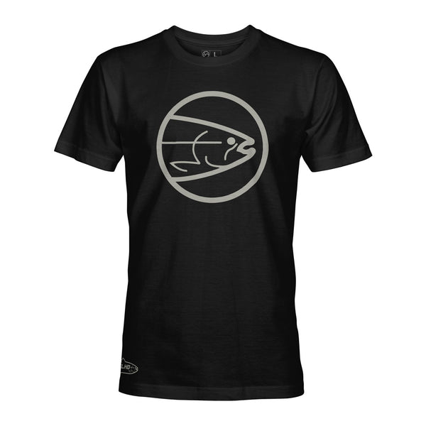 STLHD Men's Winter Eclipse Black T-Shirt - hhoutfitter