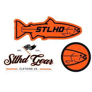 "STLHD Logo Sticker Pack - 6"" x 4"" - hhoutfitter"