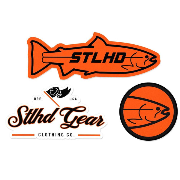 STLHD Logo Sticker Pack - 6