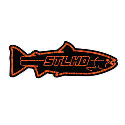 STLHD Inside Black/Orange Sticker - 8.59