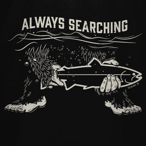 STLHD Always Searching Black T-Shirt