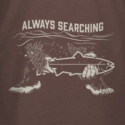 STLHD Men's Always Searching Espresso T-Shirt - H&H Outfitters
