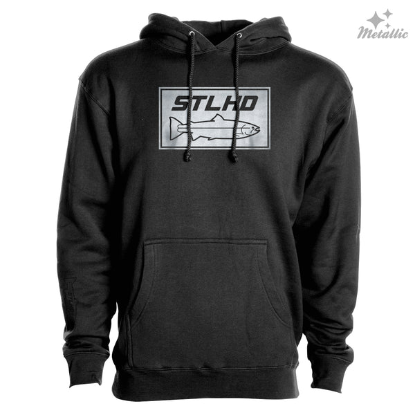 STLHD Men's Dime Bright Black Premium Hoodie - H&H Outfitters